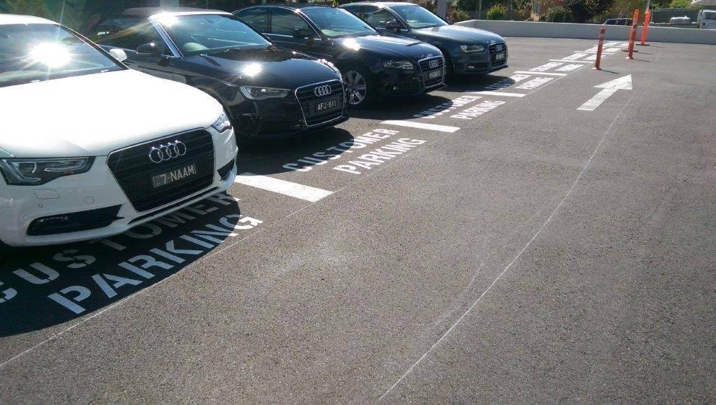 parking car symbols