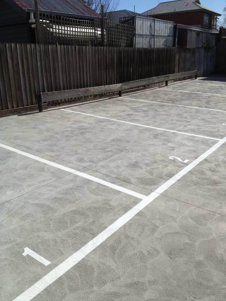 unit parking spots