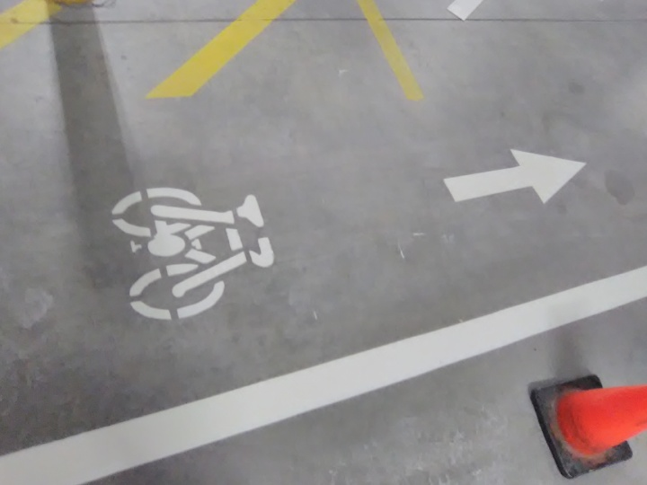 Bike Symbol Brickwors