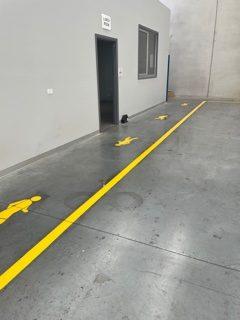warehouse internal walkway leftside