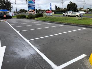 Car spaces