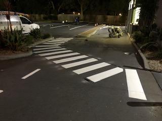 McD ped crossing