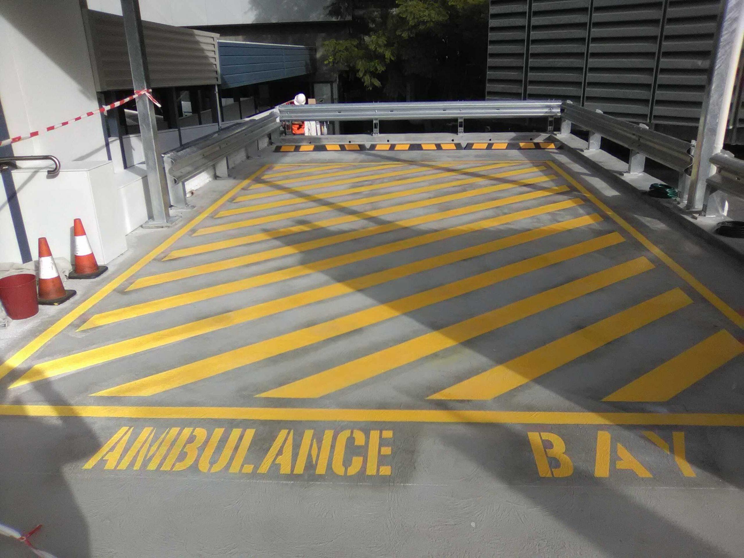 Large Ambulance Area