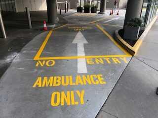 Ambulance bays